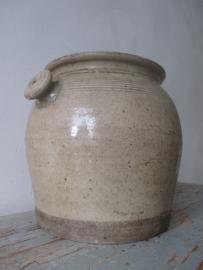 Oude Franse pot  SOLD