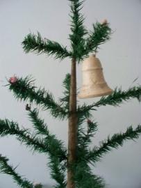 Oude antieke kerstballen / klokjes SOLD