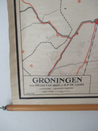 Oude schoolplaat Groningen SOLD