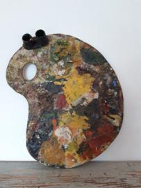 Oud schilderspallet sold