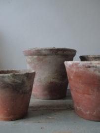 Oude Franse potten SOLD