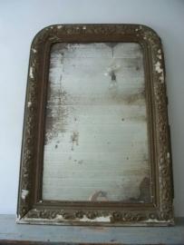 Antieke Franse spiegel OPTIE
