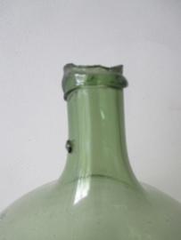 Glazen fles / gistingsfles / wijnfles