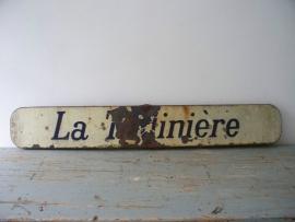 Franse emaille straatnaambord SOLD