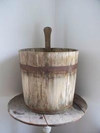 Zweedse houten emmer SOLD