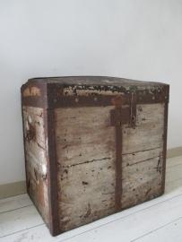Oude hutkoffer SOLD