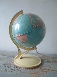 Vintage Globe / wereldbol lamp SOLD