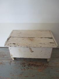 Oud houten kistje SOLD
