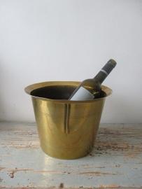Oude Franse wijnkoeler van koper SOLD