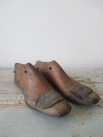 Oude Franse schoenmallen kinderschoentjes SOLD