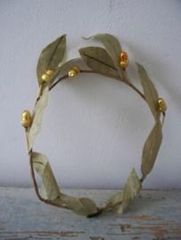 Antiek Frans kerstkroontje SOLD