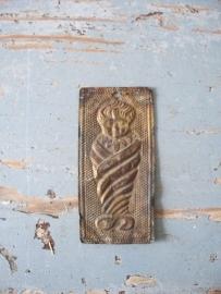Antiek Frans zilveren ex voto baby SOLD