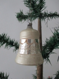 Oude antieke kerstbal / klokje SOLD
