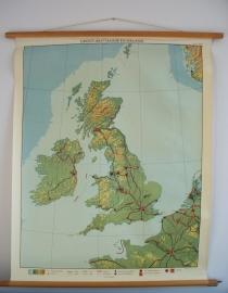 Oude schoolplaat Engeland SOLD