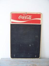 Oud reclamebordje / schoolbordje Coca Cola SOLD