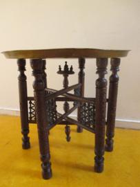 Oude marokkaanse schaal /tafel SOLD
