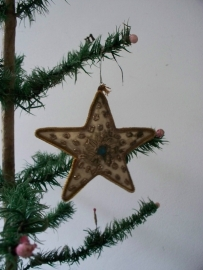 Antieke kerstster SOLD