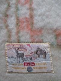 Vintage ABEE wollen deken SOLD