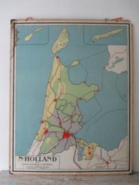 Oude schoolplaat Noord-Holland SOLD