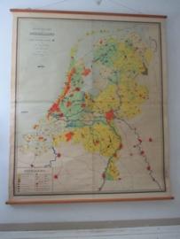 Oude schoolplaat Nederland  XXL SOLD