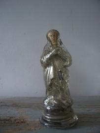 Franse zilverglas maria SOLD