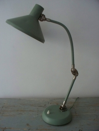 Industriele Franse bureaulamp SOLD