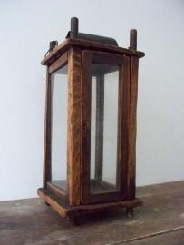 17 eeuwse houten lantaarn SOLD