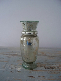 Antiek zilverglas/armeluiszilveren vaasje SOLD
