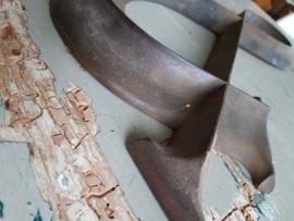 Oude bronzen teken &
