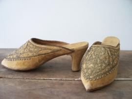 Antieke Franse victoriaanse muiltjes SOLD