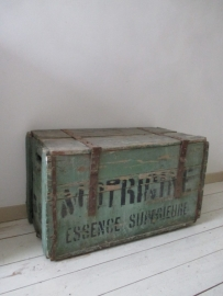 Oude groene kist SOLD