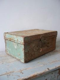 Oud metalen koffertje SOLD