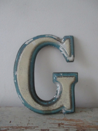 Oude industriele letter G SOLD