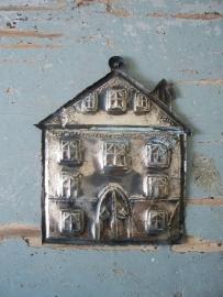 Antiek Frans zilveren ex voto huis SOLD