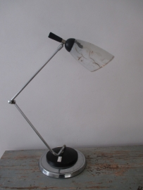 Oude Franse bureaulamp SOLD