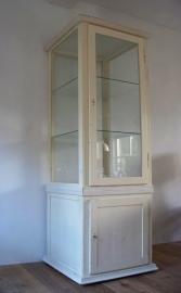 Antieke vitrine / vitrinekast SOLD