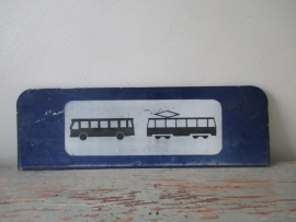 Verkeersbord tram SOLD