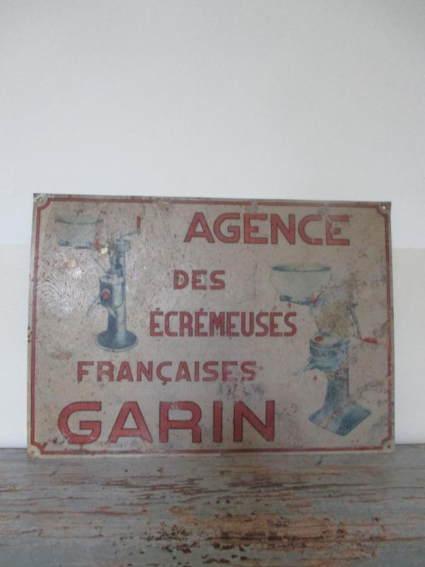 Oude Franse reclameplaat