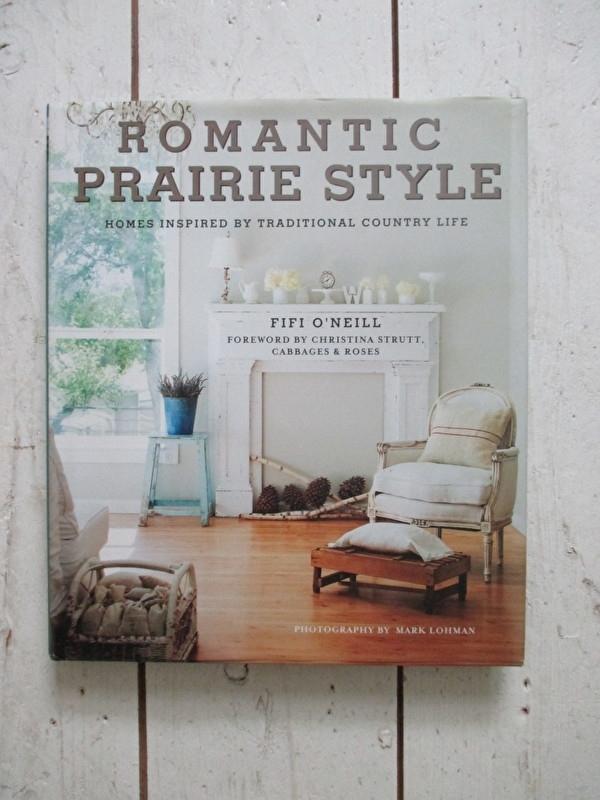 Woonboek Romantic  prairie style