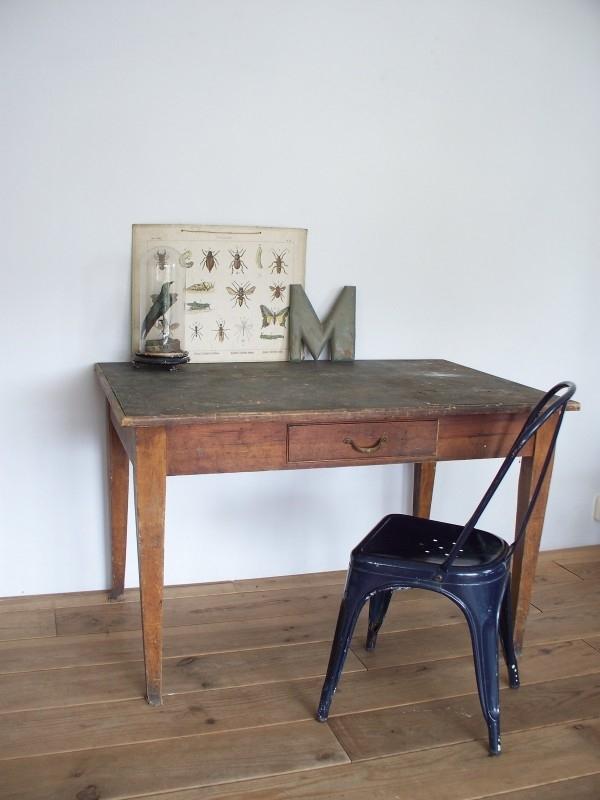 Oud Keuken Tafeltje.Oude Franse Tafel Sold Sold Sjebbiez