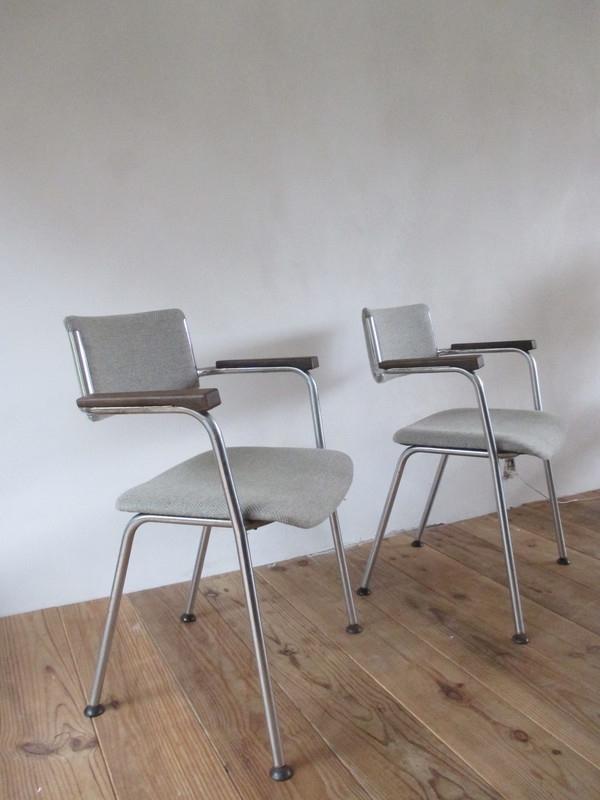 4 buisframe stoelen SOLD