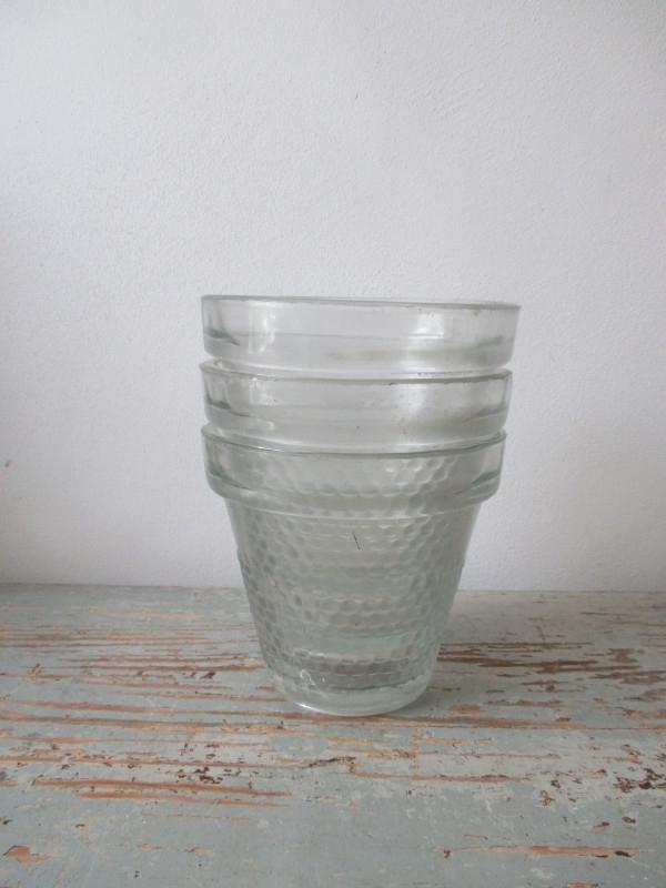 Oude glazen pot SOLD