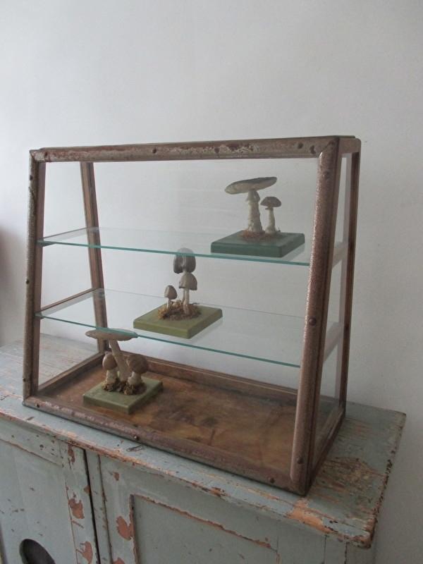 Oude toonbank vitrine SOLD