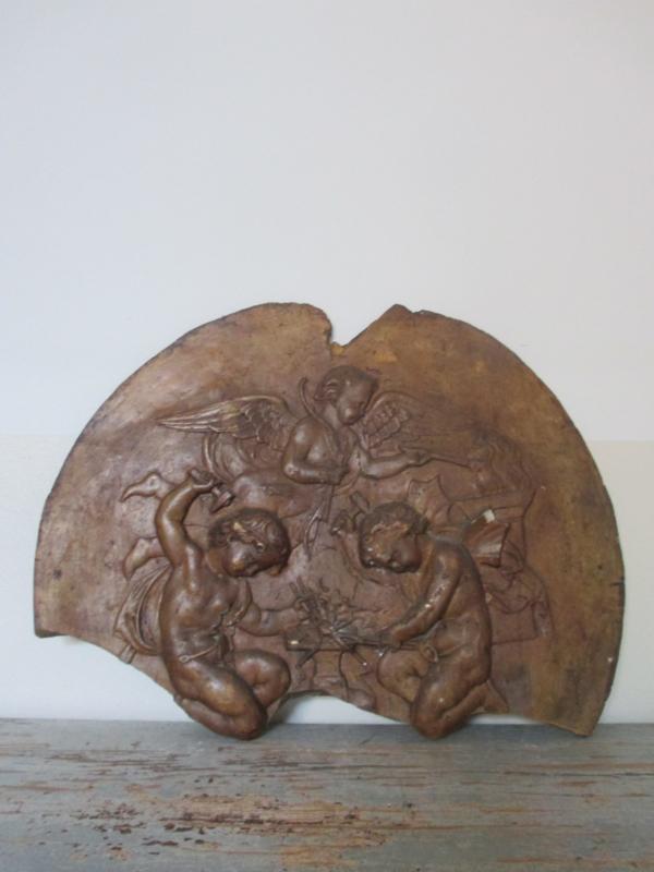 Antiek Frans engelenornament