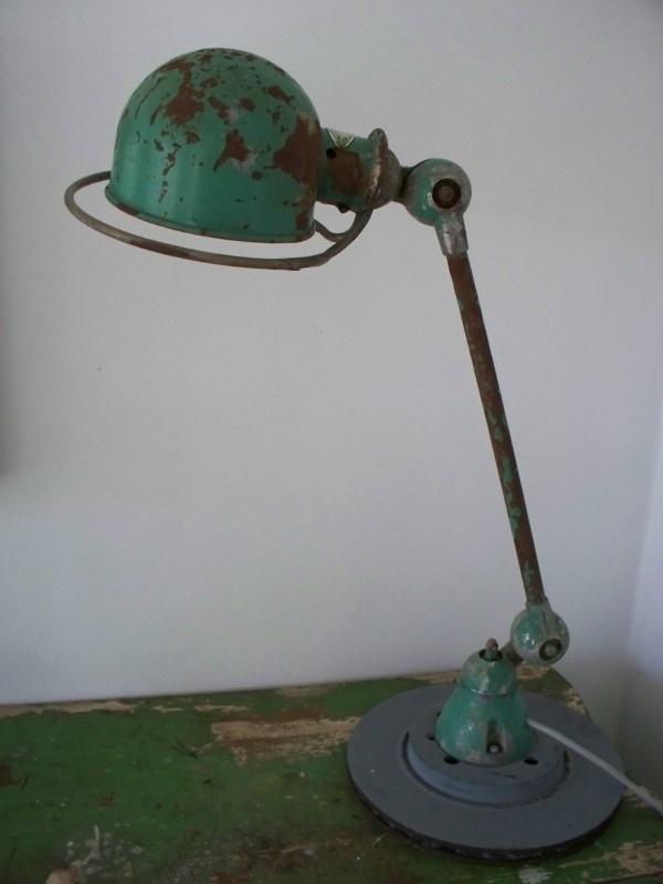 Industriele Jielde lamp uit Frankrijk SOLD
