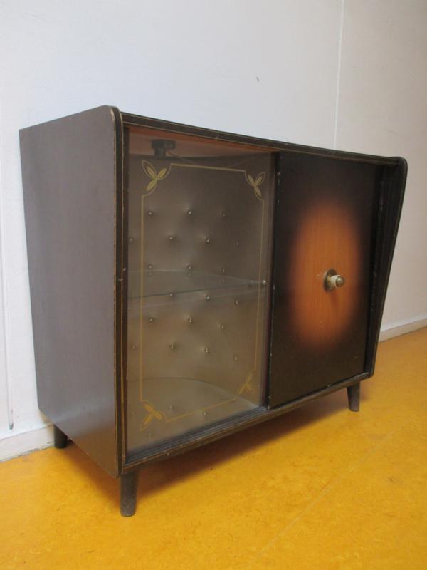 Retro vintage drankenkastje / kastje SOLD