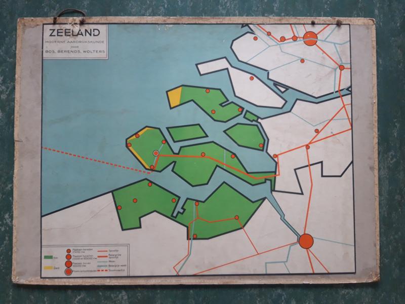 Oude schoolplaat Zeeland
