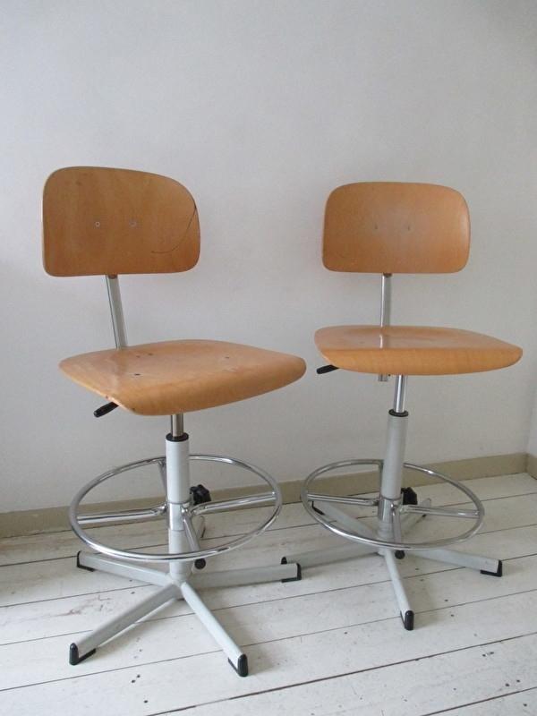 Industriele Bureau Stoel.Industriele Bureaustoelen Sold Sold Sjebbiez