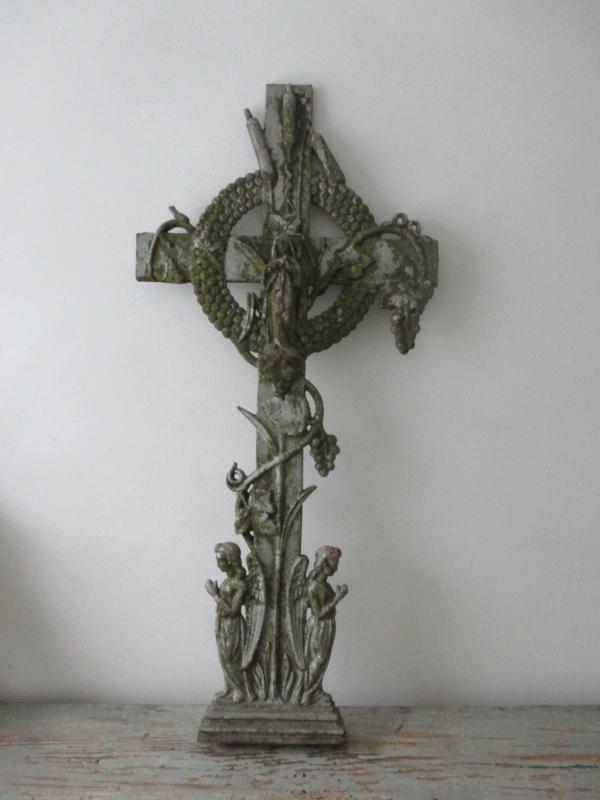 Frans ornament met maria