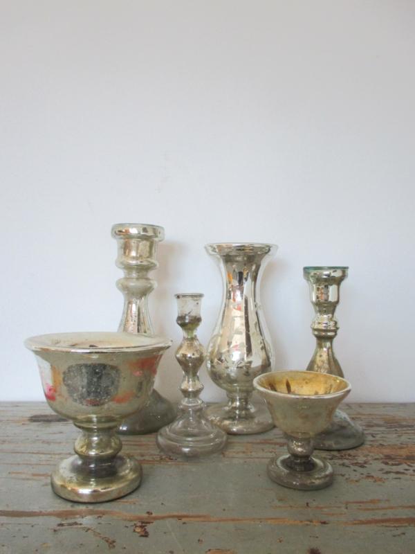 Oud Armeluiszilver/zilverglas bokaaltje SOLD